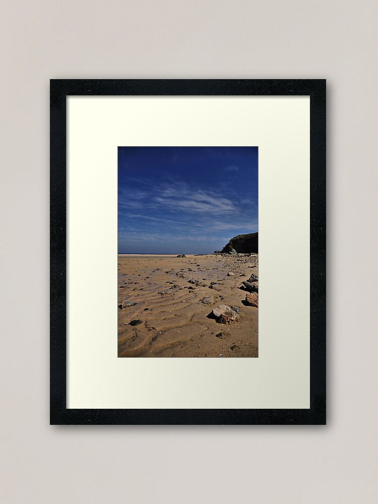 Alternate view of Beachscape 1 Framed Art Print