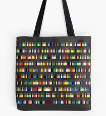 Color By Number - Pi (medium density) Tote Bag