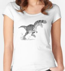T-Rex Women's Fitted Scoop T-Shirt