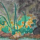 Marsh Marigolds First Flowers in Pond by eoconnor
