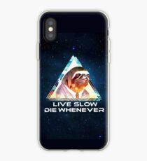 Sloth Wisdom iPhone Case