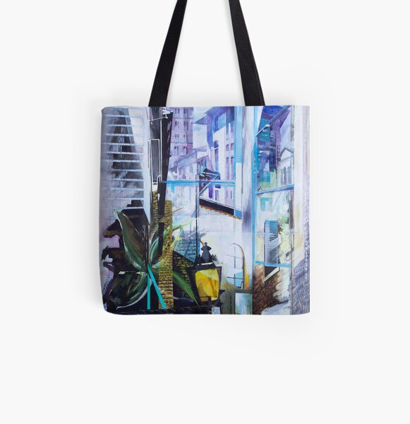 Untitled 1- (città Toscana) All Over Print Tote Bag