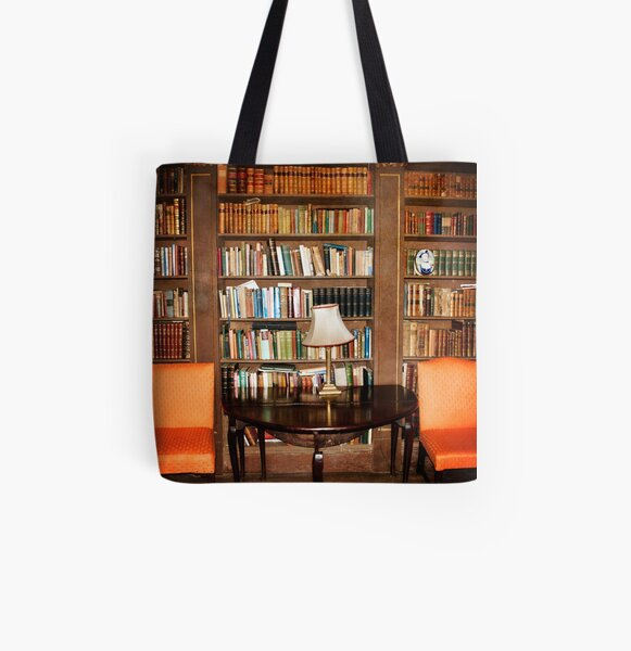 Have a seat and Read a book All Over Print Tote Bag