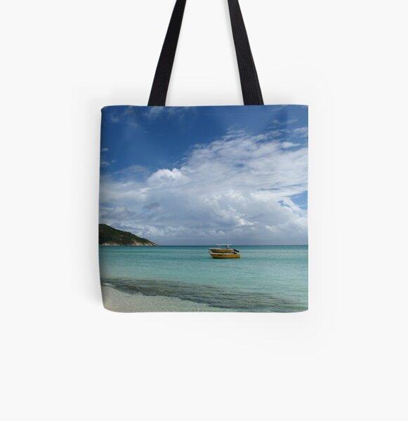 Beach at Lizard Island All Over Print Tote Bag