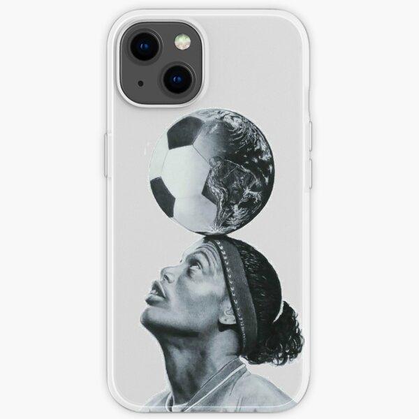 Art Ronaldinho Illustration iPhone Soft Case