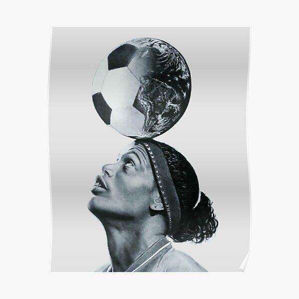 Art Ronaldinho Illustration Poster
