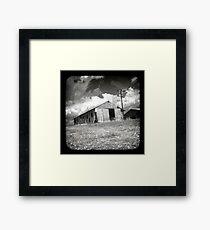 Outback Shed Framed Print