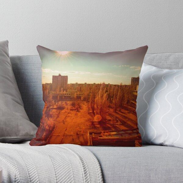 Pripyat: Half-Life  Throw Pillow