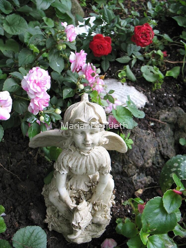 An Angel in my Garden by MarianBendeth