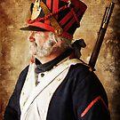Profile of a Napoleonic Era Infantryman by David de Groot