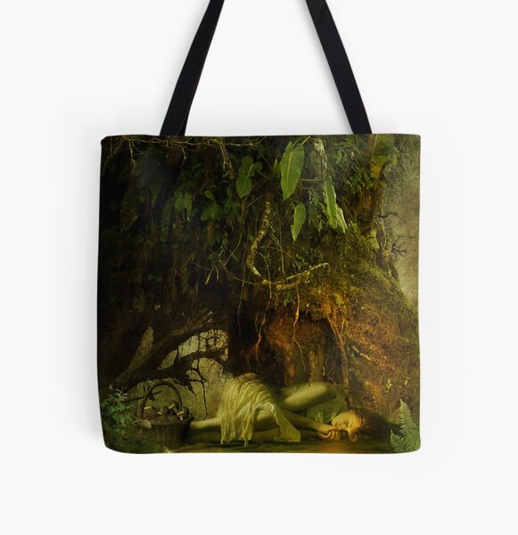 the resting tree All Over Print Tote Bag