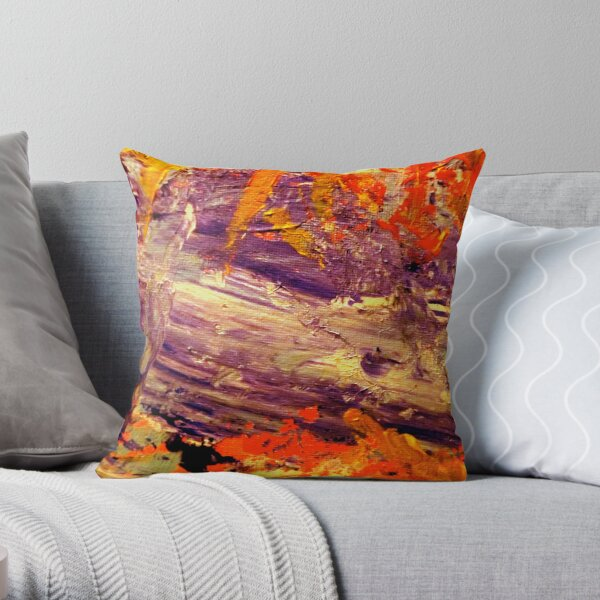 View from Sweet William's Mind Throw Pillow