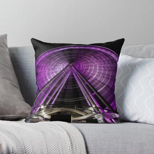 The Brisbane Wheel Throw Pillow