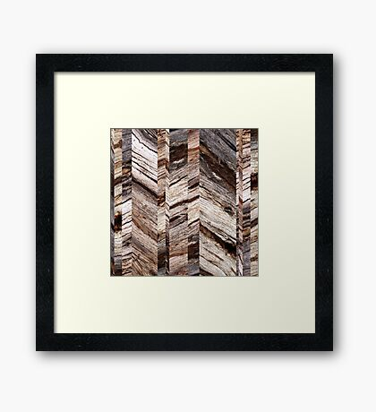 Parquetry Framed Print