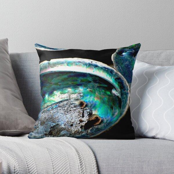 Paua Shells Throw Pillow
