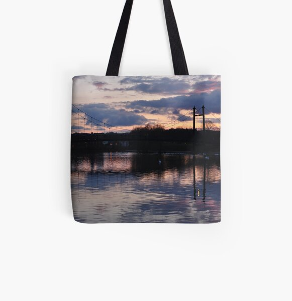 Peaceful Evening All Over Print Tote Bag
