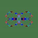 «Triángulos reflectantes en verde» de Istvan Ocztos