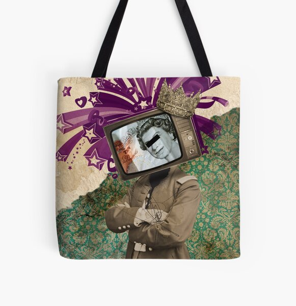 The King and The Queen All Over Print Tote Bag