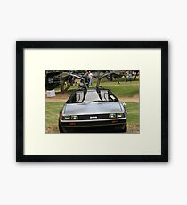 Back to the future..... Framed Print