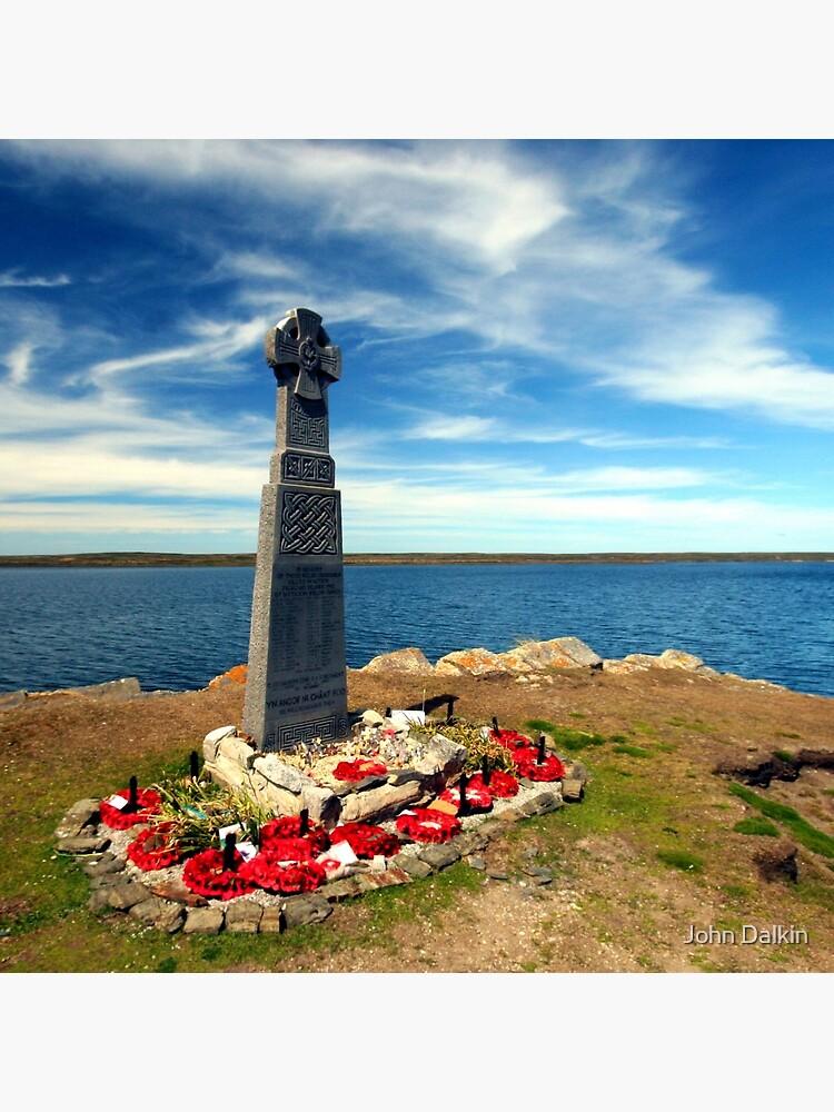 Falklands War - Welsh Guards Memorial by JohnDalkin