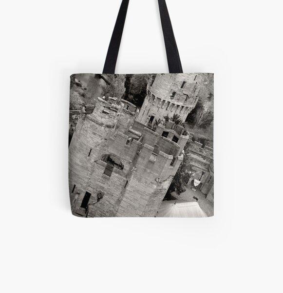 Warwick Castle All Over Print Tote Bag