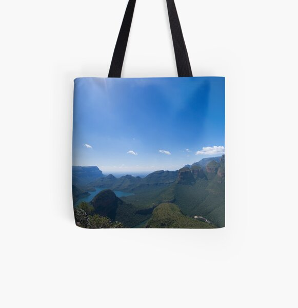 Starburst Over the Rondavels All Over Print Tote Bag