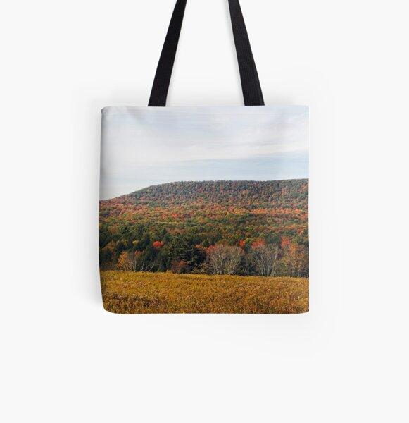 Autumnal Panorama All Over Print Tote Bag