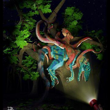 Ocean Invasion #1: Octopus arborealus by LaughingMantis