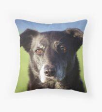 Portrait of Shela. Throw Pillow