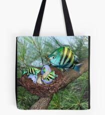 Ocean Invasion #3: First Breakfast Tote Bag