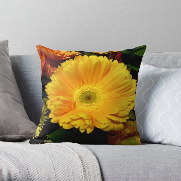 Sunshine © Throw Pillow
