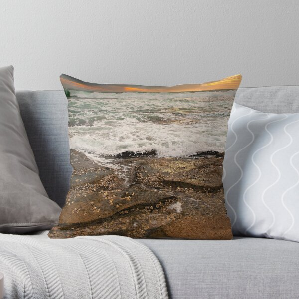 Jakes Point - Kalbarri Throw Pillow