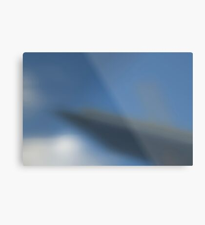 the blurred vision Metal Print