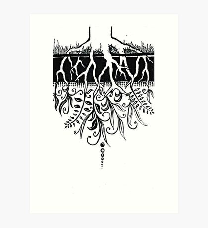 The Loosening Knot at the Centre of Everything Art Print