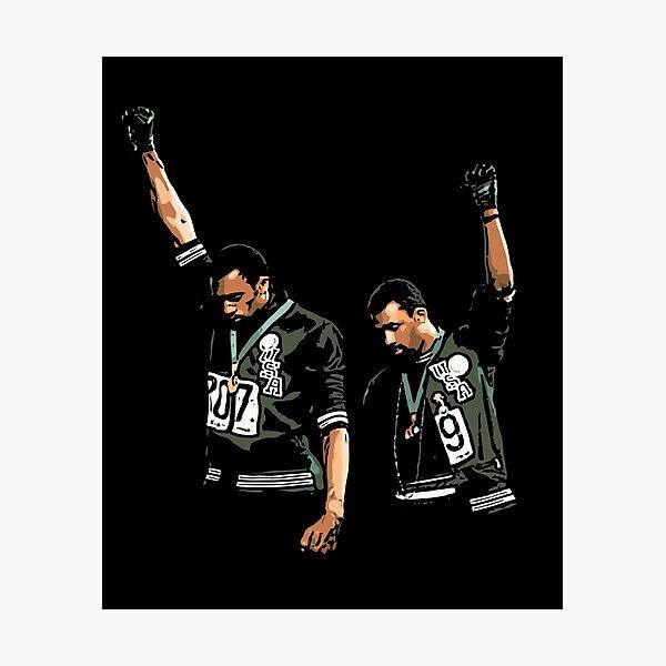 1968 Olympics Black Power Salute Illustration Photographic Print