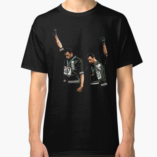 1968 Olympics Black Power Salute Illustration Classic T-Shirt