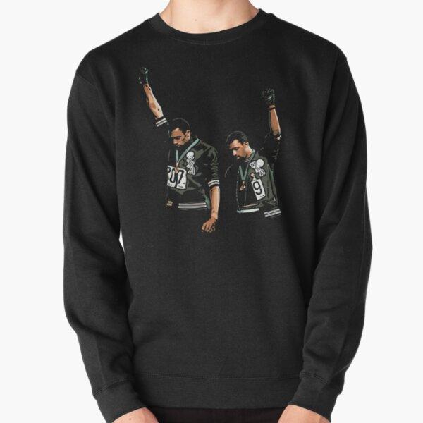 1968 Olympics Black Power Salute Illustration Pullover Sweatshirt