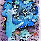 « Masque sombre 2 » par eclairciie
