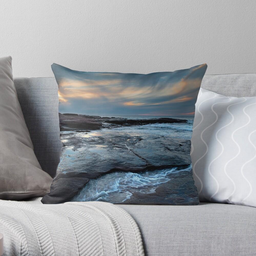 Red Bluff Beach - Kalbarri Throw Pillow