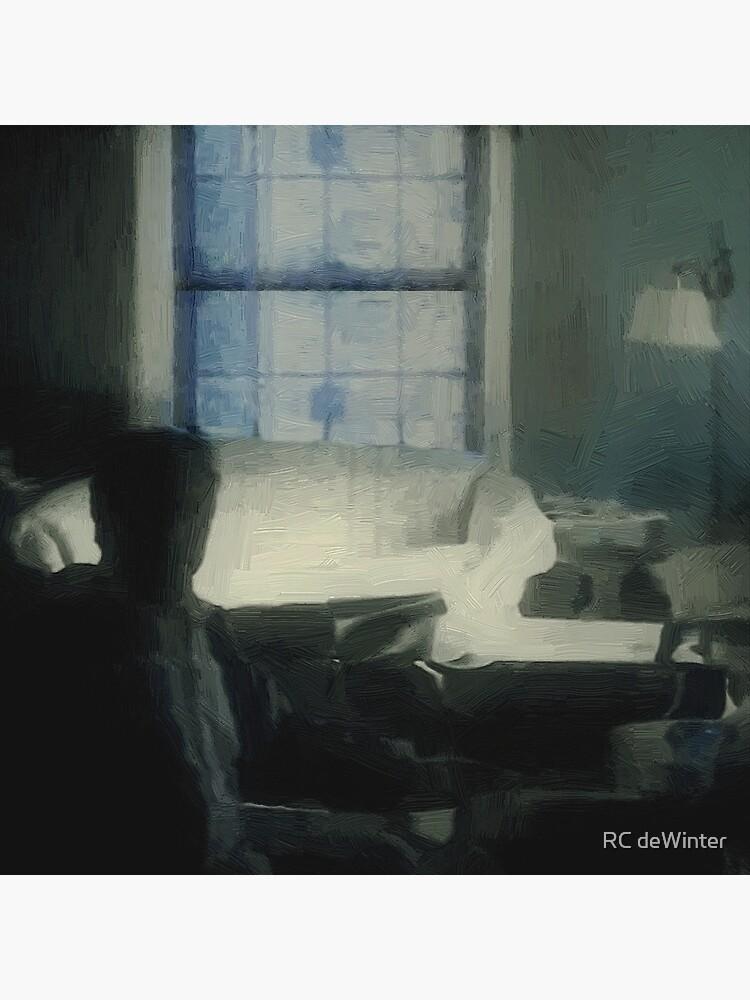 Shadowed in Blue von RCdeWinter
