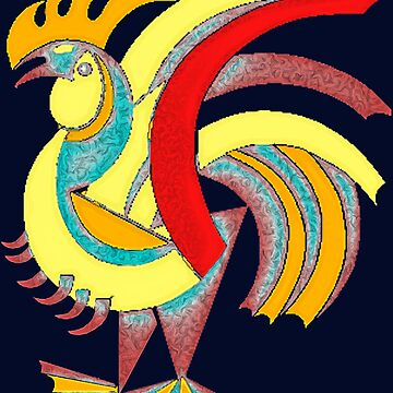 Rooster by painterfrank
