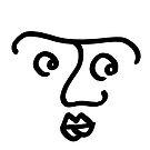 «Cara que se pregunta en el círculo» de Istvan Ocztos