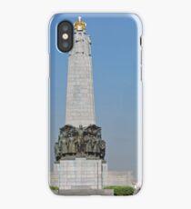Belgian National Infantry Memorial, Brussels iPhone Case
