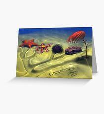 Echinodermata Greeting Card