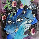 « Masque sombre 1 » par eclairciie