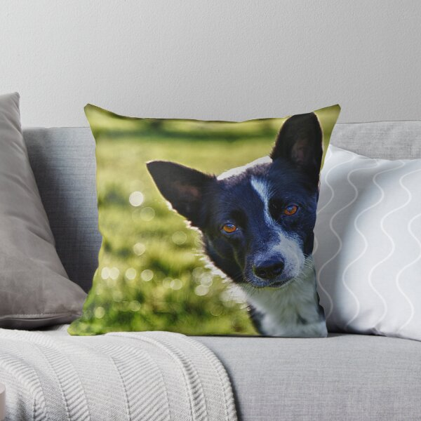 Pearl in Bokehland Throw Pillow