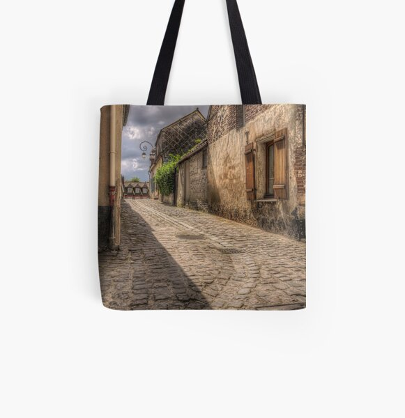 Winding Road All Over Print Tote Bag