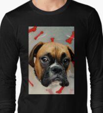 Nicht glücklich - Boxer Dog Series Langarmshirt