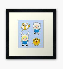 Tiny Adventurers Framed Print