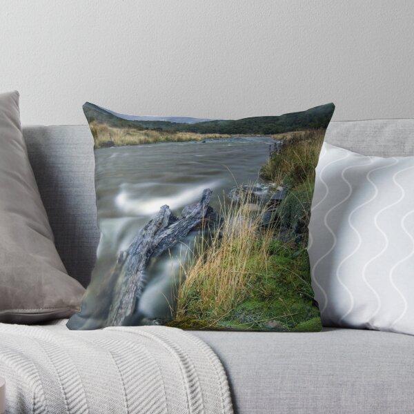 Cascade Creek - Milford Rd Throw Pillow